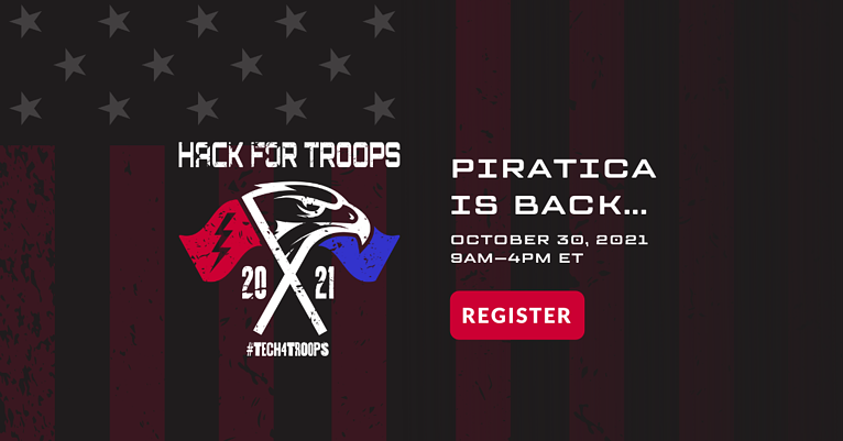 Piratica Is Back at Hack For Troops' Fundraising Event